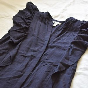 H&M Navy Maxi Dress
